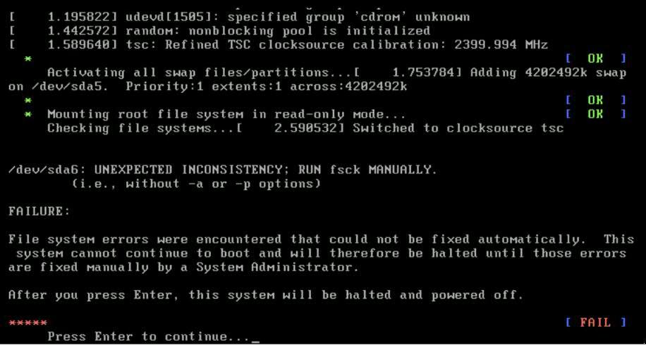VMware NSX Manager filesystem error - The Virtualist